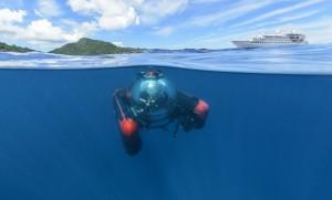 Mini-U-Boot (c) Crystal Cruises, LLC.