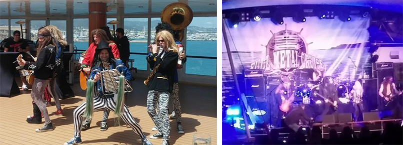Full Metal Cruise Live-Musik